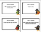 Fact or Opinion Grades 2-3 -Literacy and ELA- Fall Theme Task Cards