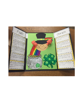 Fact or Opinion Lap Book { St. Patrick's Day Edition }