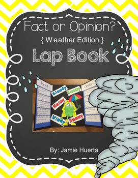 Fact or Opinion Lap Book { Weather Edition}