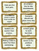 Fact or Opinion Literacy Game Color and BW Included