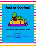 Fact or Opinion Mini Lesson