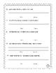 Mixed Up Sentences / Writing Sentences /  Fact or Opinion / 2nd Grade, 3rd Grade