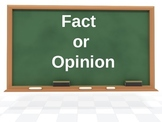 Fact or Opinion Presentation