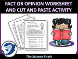 Fact or Opinion Cut and Paste - Short Reading Passage