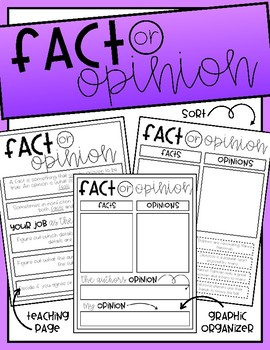 Fact or Opinion Resources