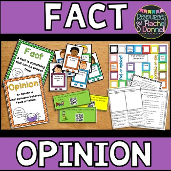Fact or Opinion Sample Pack