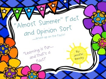 Fact or Opinion Sort--A Review Center
