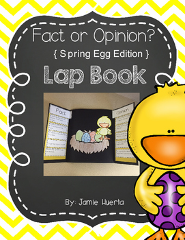 Fact or Opinion {Spring Egg Edition}