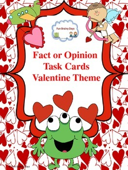 Fact or Opinion: Valentine Theme