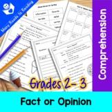 Fact or Opinion Worksheet: Grade 2