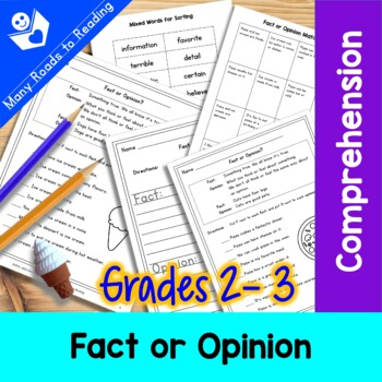 Fact or Opinion Worksheet: Grade 2