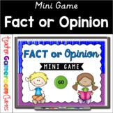 Fact or Opinoin - Mini Game