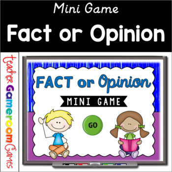 Fact or Opinoin - Mini Game