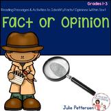 Fact vs. Opinion