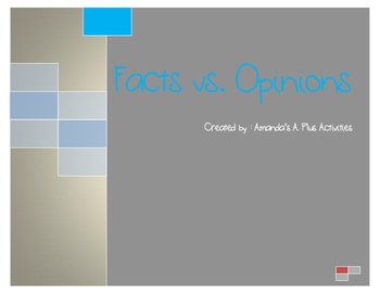 Fact vs. Opinion Activities - Lots to choose from
