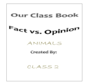 Fact vs. Opinion - An Introductory PACK