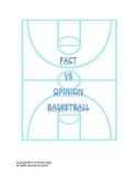 Fact vs Opinion Basketball
