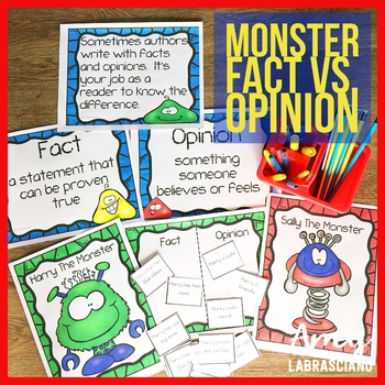 Fact vs. Opinion Monster Style
