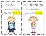 Fact vs. Opinion Poster