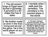 Fact vs Opinion Task Cards (I-Station Vocabulary Series) 24 Cards