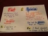 Fact/Opinion Chart