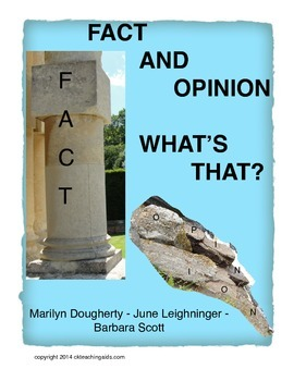 Fact/Opinion - What's That?