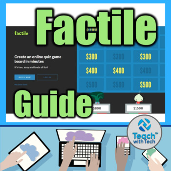 Factile Jeopardy Style Online Quiz Game Guide