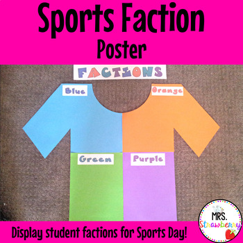 Faction Classroom Poster