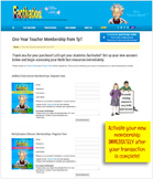 Factivation.com ONE YEAR TEACHER MEMBERSHIP - Multiplication/Division