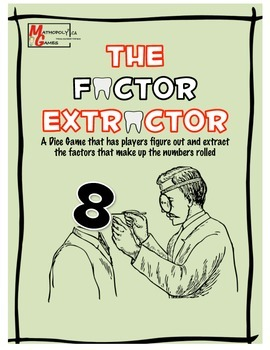 Factor Extractor - Learning Factors Through Game Play with Dice