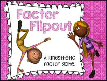 """Factors and Multiples """"A Four Corner Factor Game"""""""