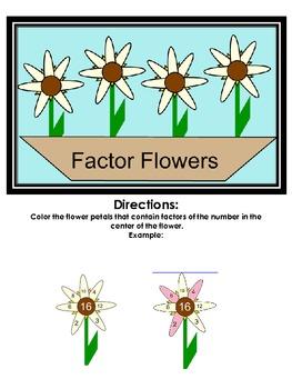 Factor Flowers