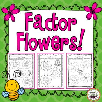 Factor Flowers: Print & Start Multiplying!