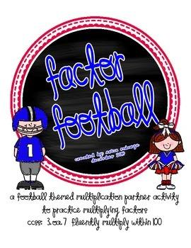 Factor Football Multiplication game