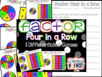 Factor Four In A Row