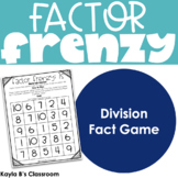 Factor Frenzy: A Division Facts Game