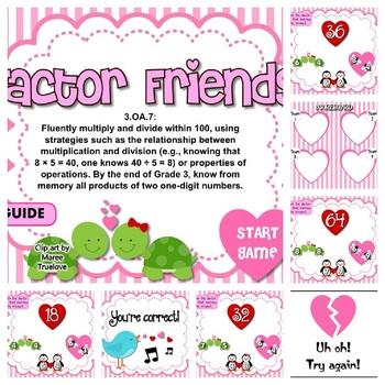 Factor Friends Activity Bundle