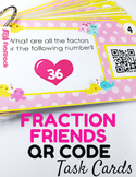 Finding Factors and GCF Task Cards with QR Codes