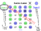 Factor Game - Math Logic Game