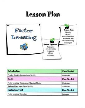 Factor Investing Lesson