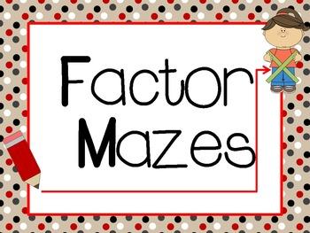 Factor Mazes