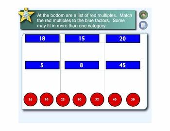 Math Warm-Ups Bundle: 100 Interactive SmartBoard Activities for Grades 3-5