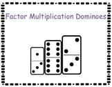 Factor Multiplication Dominoes