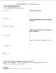 Factor/Multiply XIV*: Self-Evaluation: Factoring