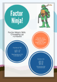 Factor Ninja visual poster