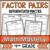Factor Pairs Worksheets