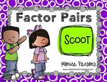 Factor Pairs Scoot