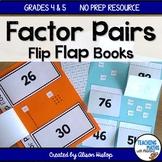 Factor Pairs Flip Flap Books