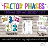 Factor Phases: A Multiplication Fact Game
