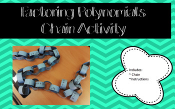 Factor Polynomials Chain Activity